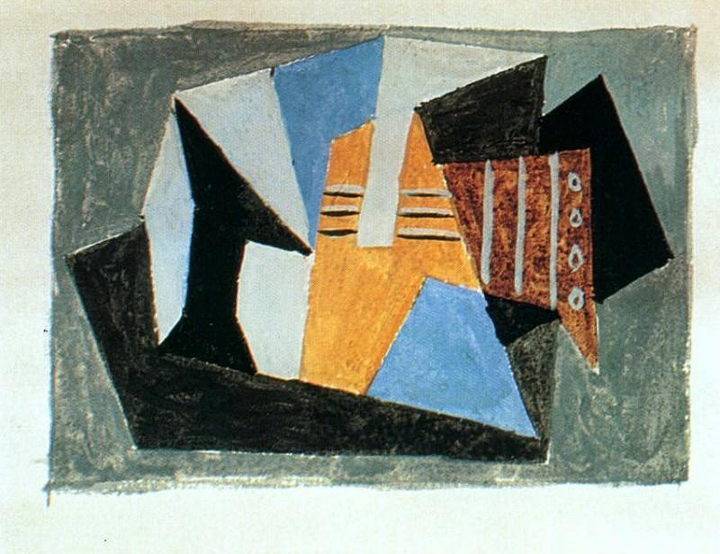 1920 Guitare et compotier sur une table2. Pablo Picasso (1881-1973) Period of creation: 1919-1930