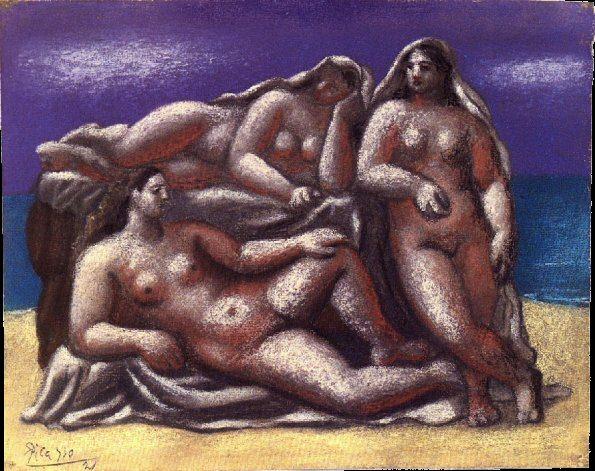 1921 Groupe de nus fВminins1. Pablo Picasso (1881-1973) Period of creation: 1919-1930