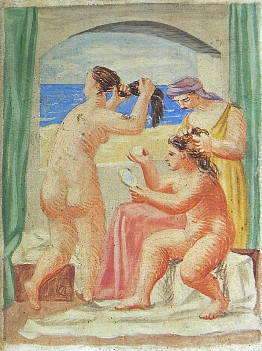 1922 La coiffure1. Pablo Picasso (1881-1973) Period of creation: 1919-1930
