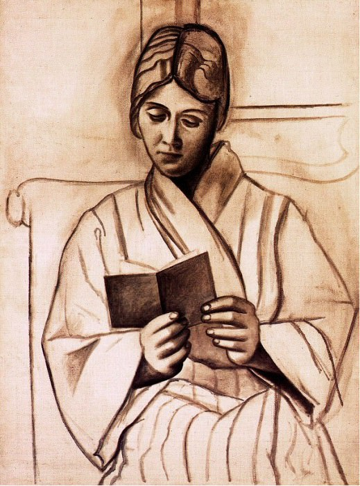 1920 Femme lisant (Olga). Pablo Picasso (1881-1973) Period of creation: 1919-1930