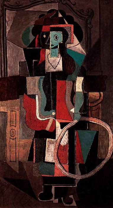 1919 Fillette au cerceau. JPG. Pablo Picasso (1881-1973) Period of creation: 1919-1930
