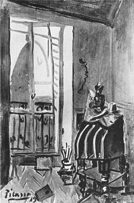 1919 Vue sur le clocher de lВglise Saint-Augustin1. Пабло Пикассо (1881-1973) Период: 1919-1930