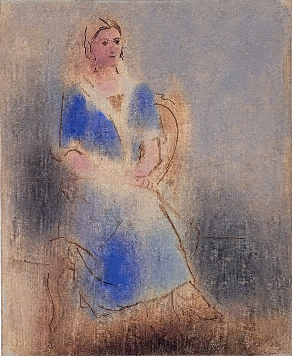 1923 Olga assise. Pablo Picasso (1881-1973) Period of creation: 1919-1930