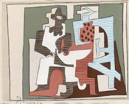 1920 Composition1. Пабло Пикассо (1881-1973) Период: 1919-1930