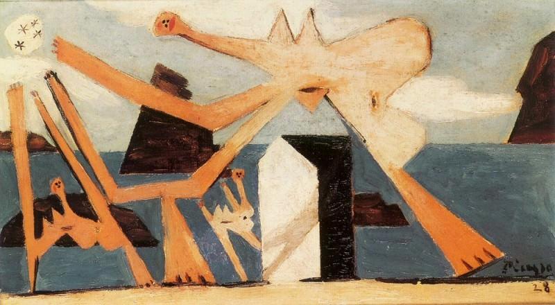 1928 Baigneuses au ballon1. Пабло Пикассо (1881-1973) Период: 1919-1930