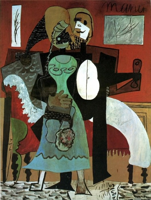 1919 Les amoureux1. Pablo Picasso (1881-1973) Period of creation: 1919-1930
