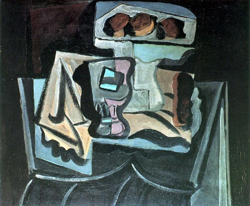 1919 Nature morte1. Pablo Picasso (1881-1973) Period of creation: 1919-1930