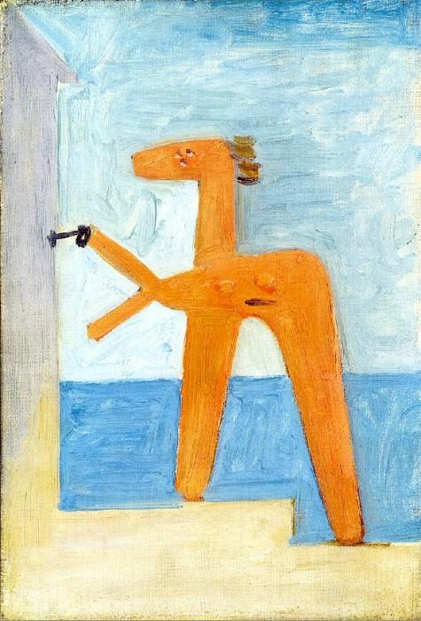 1928 Baigneuse ouvrant une cabine. Pablo Picasso (1881-1973) Period of creation: 1919-1930