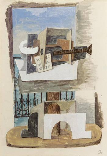 1919 Nature morte devant une fenИtre1. Пабло Пикассо (1881-1973) Период: 1919-1930