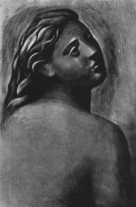 1922 Nu Е mi-corps de dos. Pablo Picasso (1881-1973) Period of creation: 1919-1930