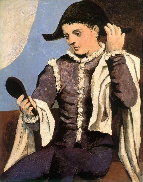 1923 Arlequin au miroir. Pablo Picasso (1881-1973) Period of creation: 1919-1930