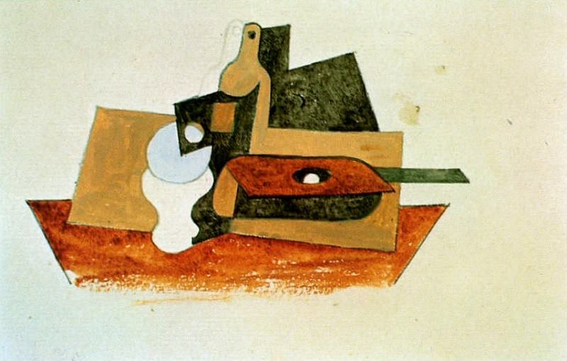 1919 Nature morte2. Pablo Picasso (1881-1973) Period of creation: 1919-1930