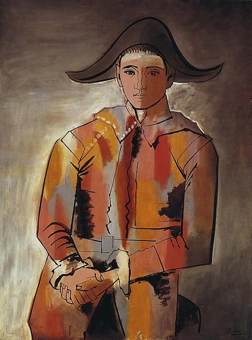 1923 Arlequin, les mains croisВes (Jacinto Salvado). Pablo Picasso (1881-1973) Period of creation: 1919-1930