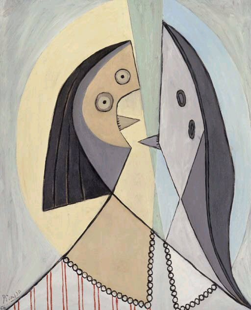 1929 Buste de femme2. Pablo Picasso (1881-1973) Period of creation: 1919-1930