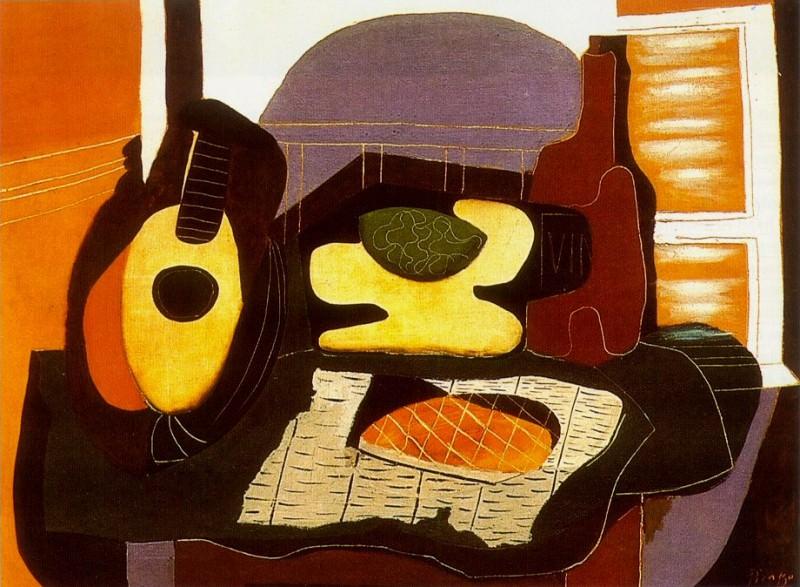 1924 Nature morte Е la galette. Пабло Пикассо (1881-1973) Период: 1919-1930