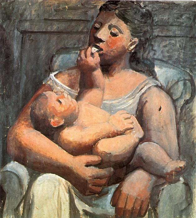 1921 MКre et enfant. Pablo Picasso (1881-1973) Period of creation: 1919-1930