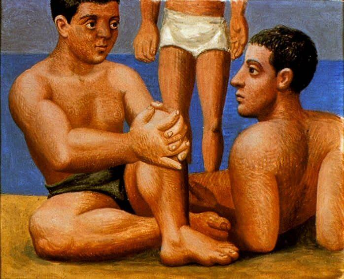 1921 Deux baigneurs1. Pablo Picasso (1881-1973) Period of creation: 1919-1930