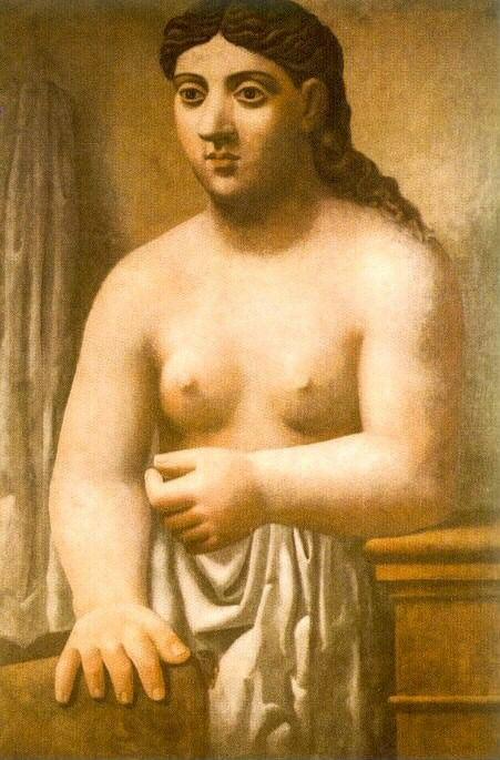 1921 Buste de nu fВminin. Pablo Picasso (1881-1973) Period of creation: 1919-1930