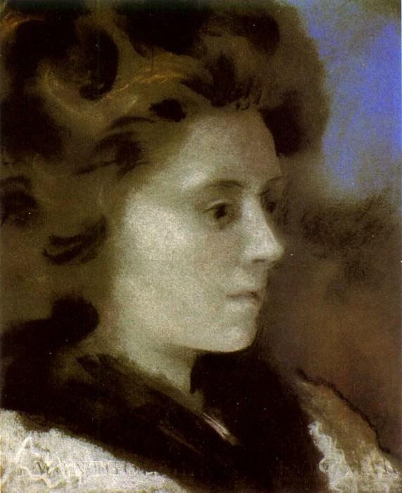 1920 Portrait de femme (Olga). Pablo Picasso (1881-1973) Period of creation: 1919-1930