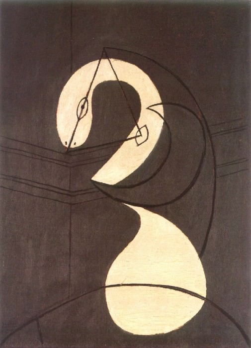 1930 Figure (TИte de femme). Pablo Picasso (1881-1973) Period of creation: 1919-1930