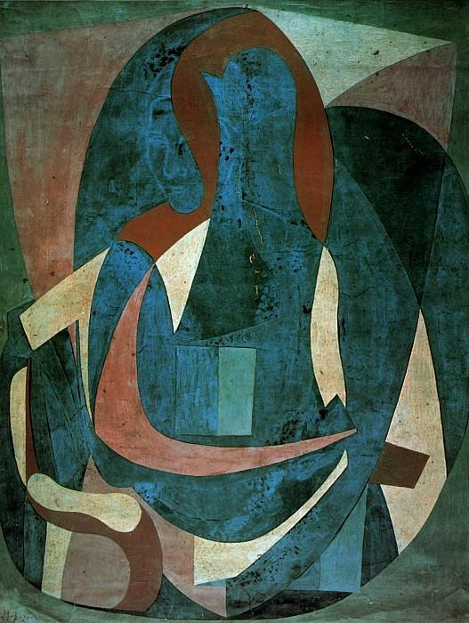1920 Femme assise dans un fauteuil1. Pablo Picasso (1881-1973) Period of creation: 1919-1930