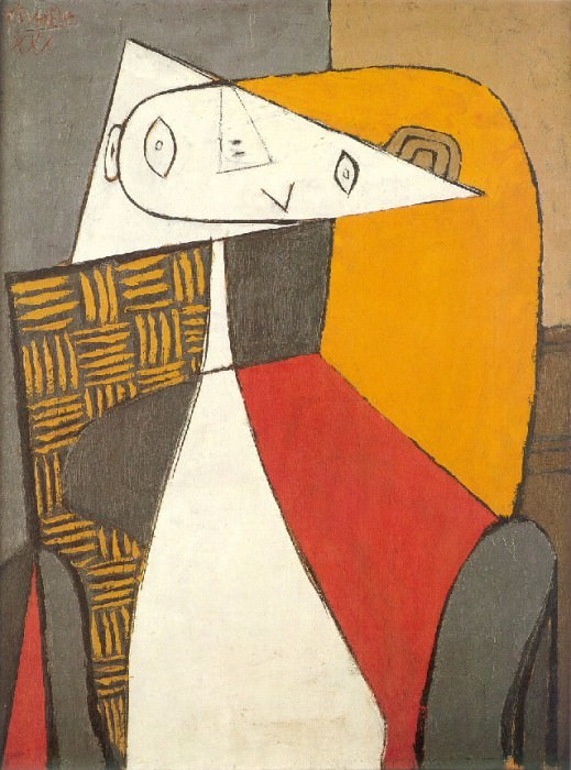 1930 Femme assise. Pablo Picasso (1881-1973) Period of creation: 1919-1930 (Figure)