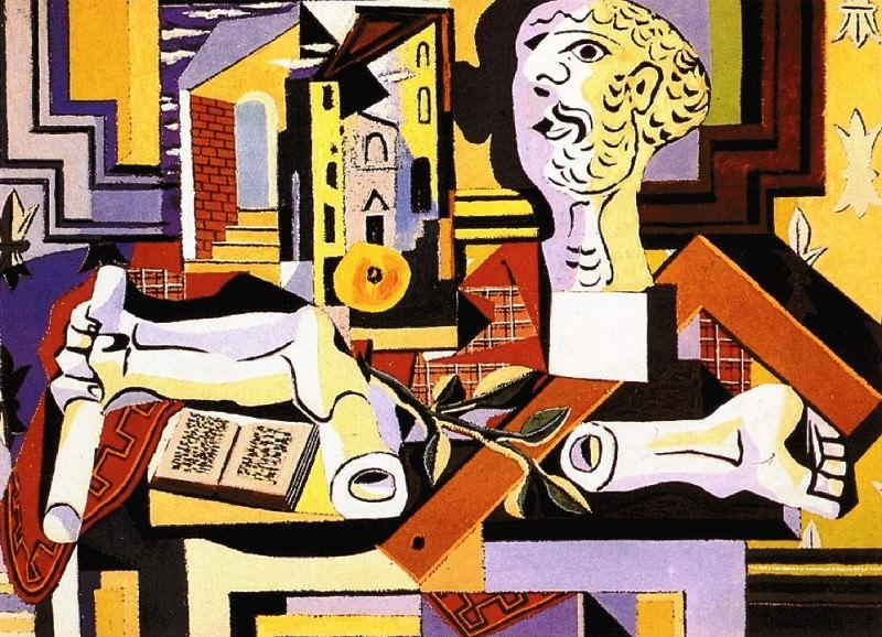 1925 Atelier avec tИte et bras de plГtre. Pablo Picasso (1881-1973) Period of creation: 1919-1930