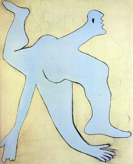 1929 Lacrobate bleu1. Pablo Picasso (1881-1973) Period of creation: 1919-1930