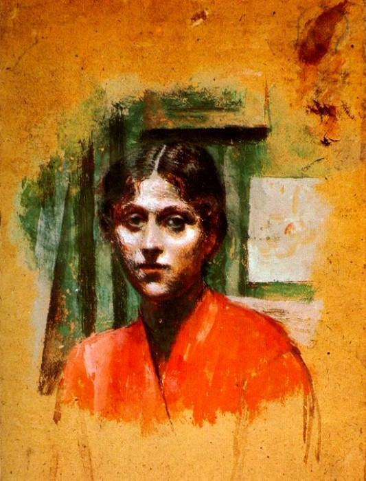 1921 Portrait dOlga2. Pablo Picasso (1881-1973) Period of creation: 1919-1930