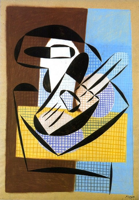 1921 Compotier et guitare. Pablo Picasso (1881-1973) Period of creation: 1919-1930