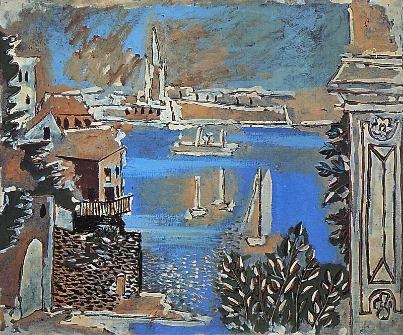1922 Paysage de Dinard. Pablo Picasso (1881-1973) Period of creation: 1919-1930