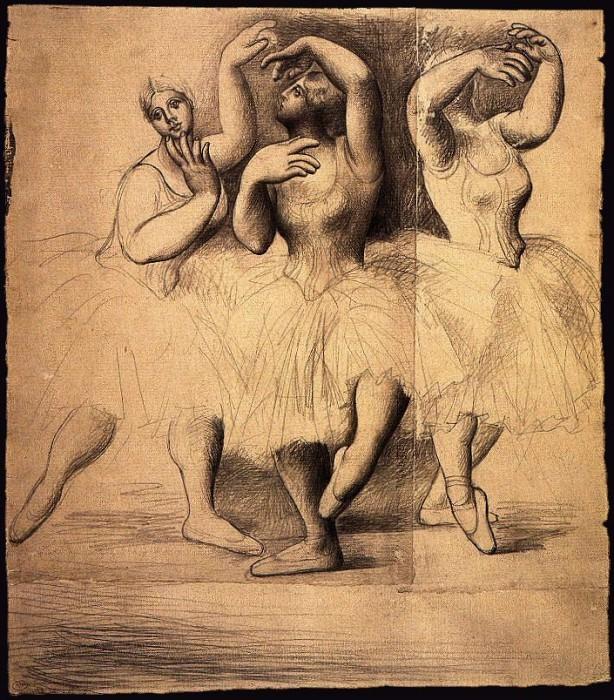 1919 Trois danseuses. Pablo Picasso (1881-1973) Period of creation: 1919-1930