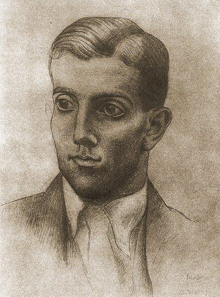 1919 Portrait de LВonide Massine. Pablo Picasso (1881-1973) Period of creation: 1919-1930