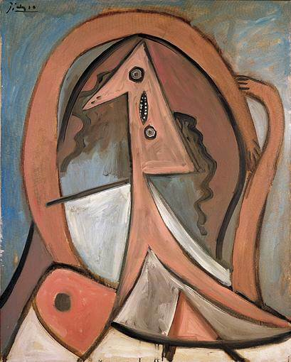 1929 Femme assise1. Pablo Picasso (1881-1973) Period of creation: 1919-1930