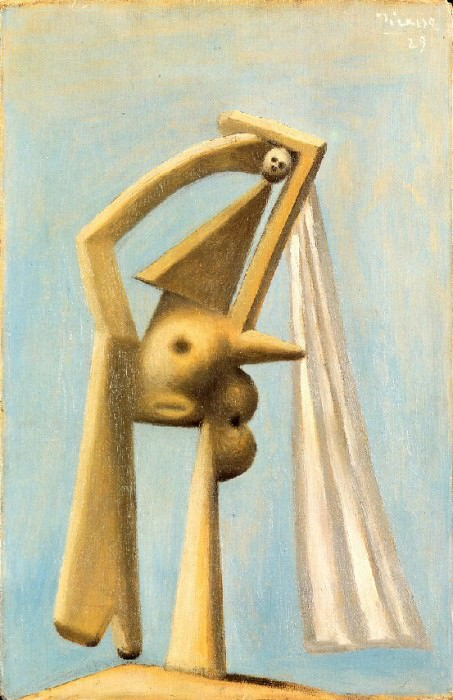 1929 Femme au voile. Pablo Picasso (1881-1973) Period of creation: 1919-1930