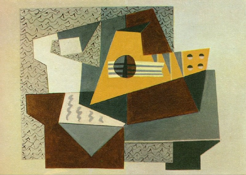 1920 Guitare. Pablo Picasso (1881-1973) Period of creation: 1919-1930