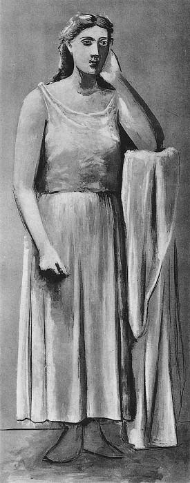 1924 La Grecque. Pablo Picasso (1881-1973) Period of creation: 1919-1930
