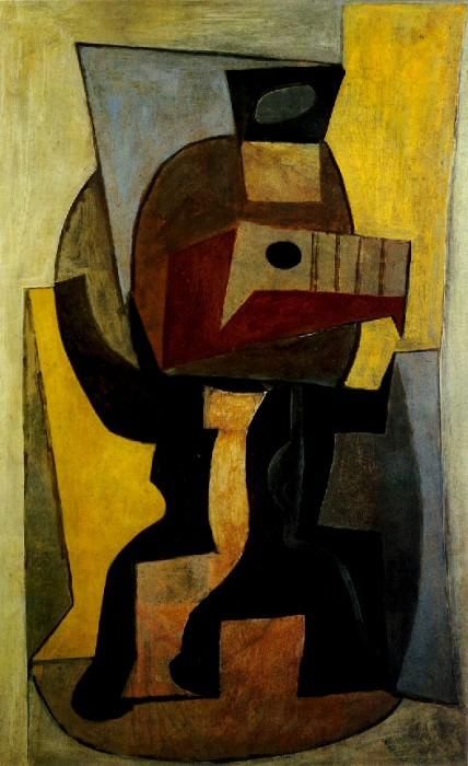1920 GuВridon avec guitare. Пабло Пикассо (1881-1973) Период: 1919-1930