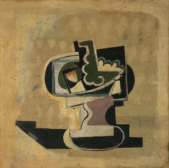 1919 Compotier. Pablo Picasso (1881-1973) Period of creation: 1919-1930