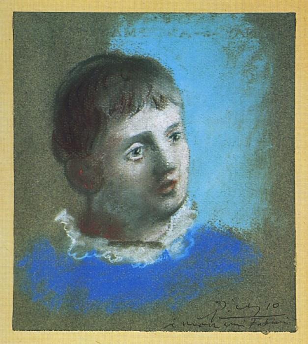 1922 Portrait dadolescent en Pierrot. Pablo Picasso (1881-1973) Period of creation: 1919-1930