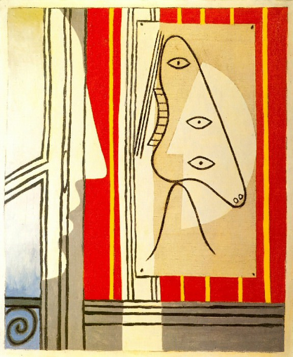 1928 Figure et profil. Pablo Picasso (1881-1973) Period of creation: 1919-1930