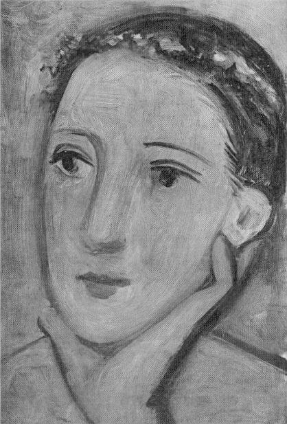 1928 TИte de femme. Pablo Picasso (1881-1973) Period of creation: 1919-1930