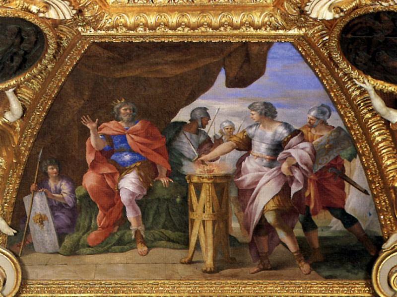 РОМАНЕЛЛИ ДЖОВАННИ ФРАНЧЕСКО - Муций Сцевола.. Louvre (Paris)
