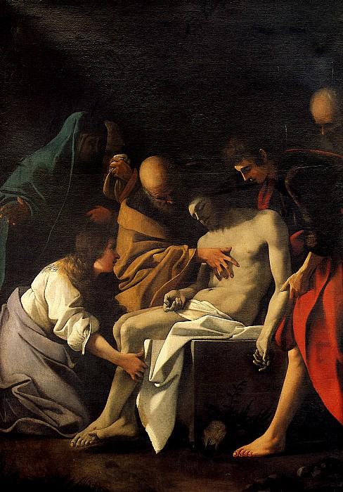 СКЕДОНЕ БАРТОЛОМЕО - Положение во гроб.. Louvre (Paris)