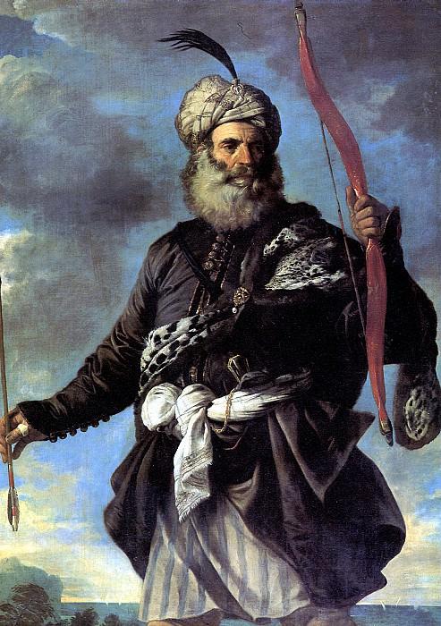 МОЛА ПЬЕР ФРАНЧЕСКО - Пират-иноверец с луком, 1650.. Louvre (Paris)