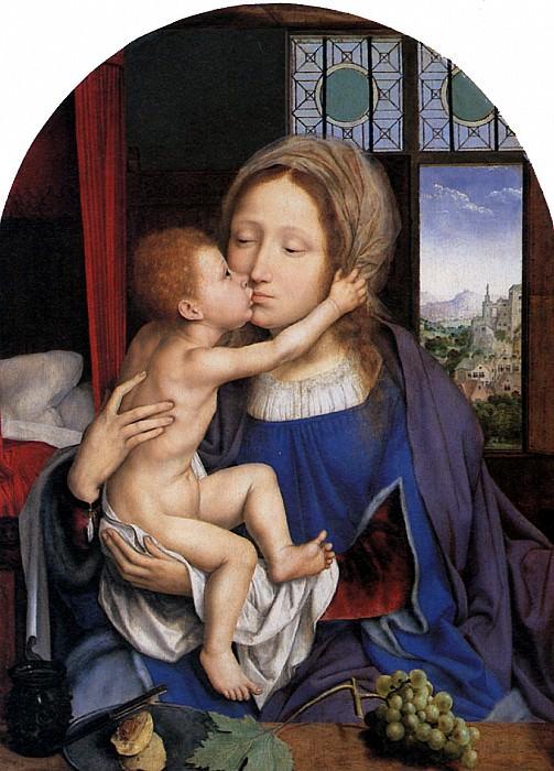 МАССЕЙС КВЕНТИН - Мария с младенцем, 1529.. Лувр (Париж)