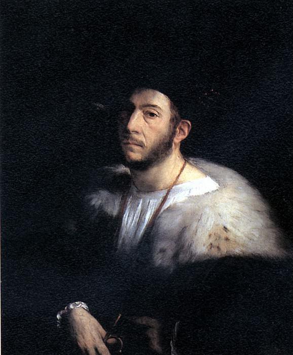 ЛУТЕРО ДЖОВАННИ ДИ, ПРОЗВАННЫЙ ДОССО ДОССИ - Мужской портрет.. Louvre (Paris)