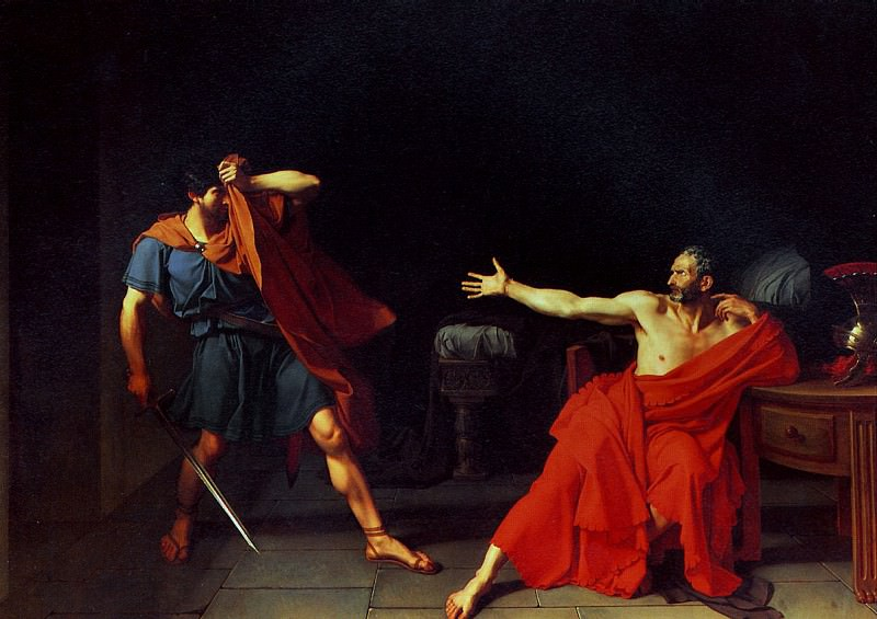 ДРУЭ ЖЕРМЕН ЖАН - Мариус, заключенный в Минтурне.. Louvre (Paris)