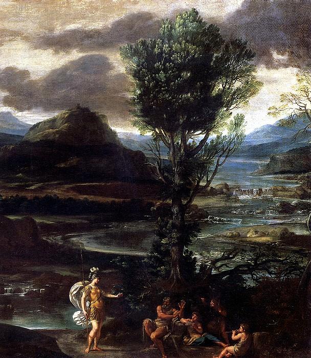 ДОМЕНИКИНО - Эрминия с пастухами.. Louvre (Paris)
