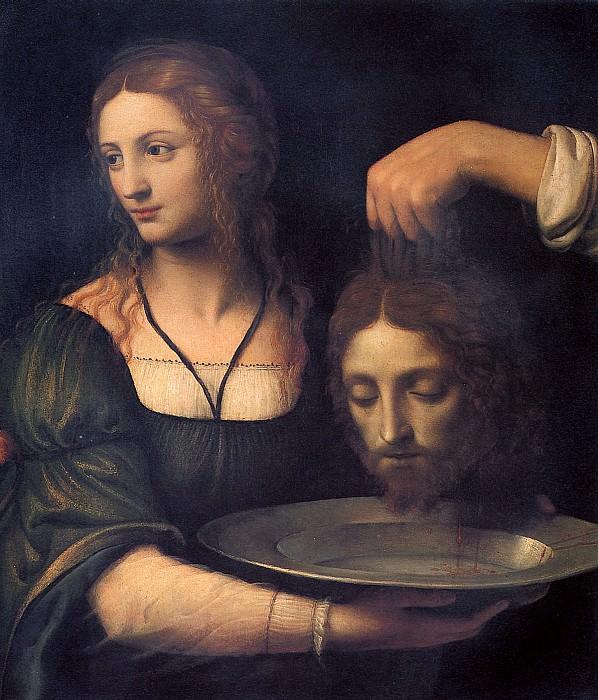 ЛУИНИ - Саломея с головой св. Иоанна Крестителя.. Louvre (Paris)
